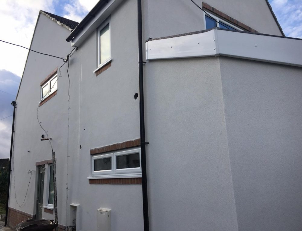 KRend Silicone Colour Render Project Guiseley