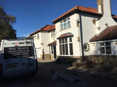 silicone coloured rendering collingham