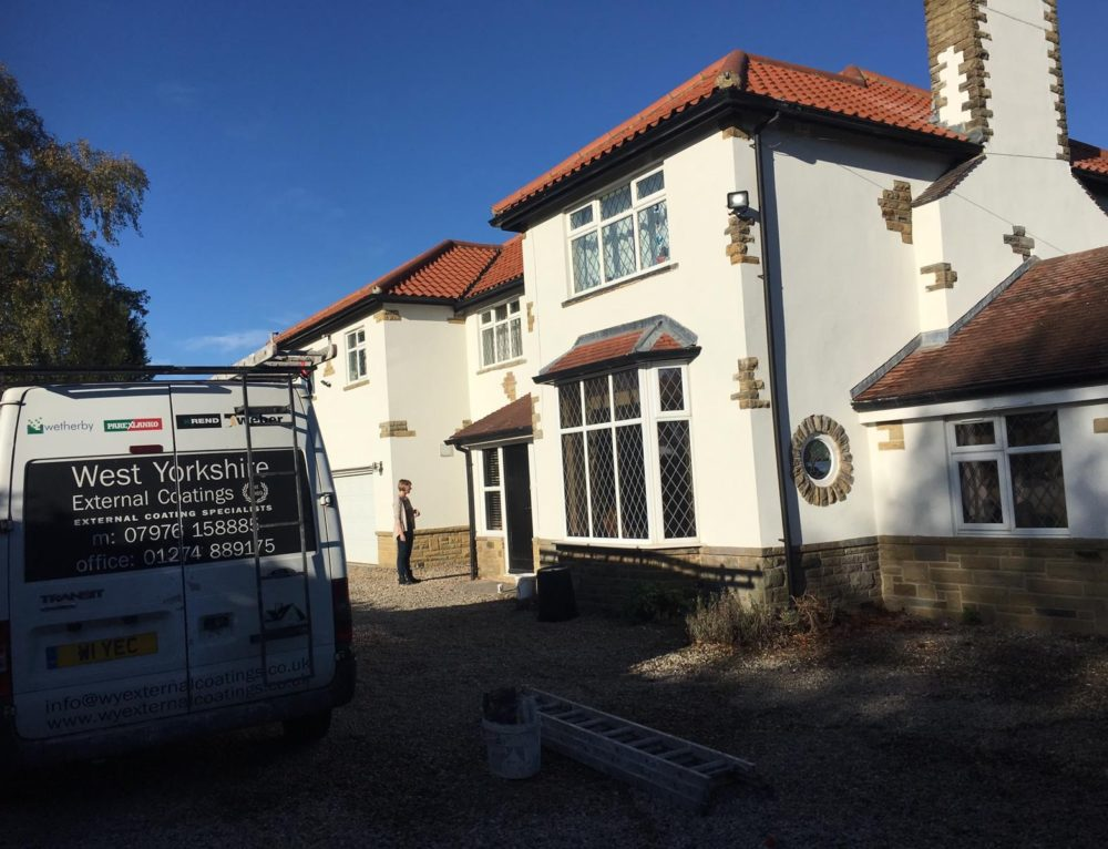 Silicone Colour Render Job in Collingham