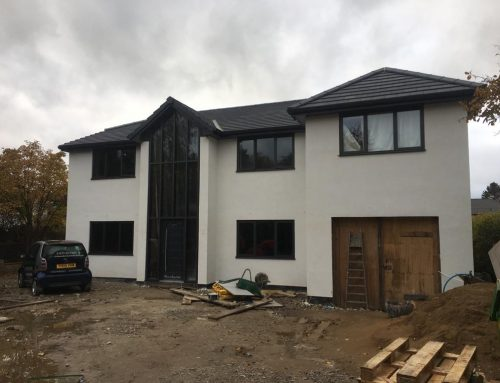 Colour Render Job of Large Home in Menston